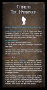 Loyalty Card - Cthulhu The Harbinger