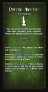 Loyalty Card - Doctor Hunter