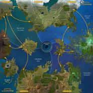 Glorantha Map 5P (Deluxe)