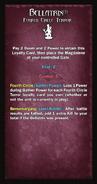 Loyalty Card - Bellatrix