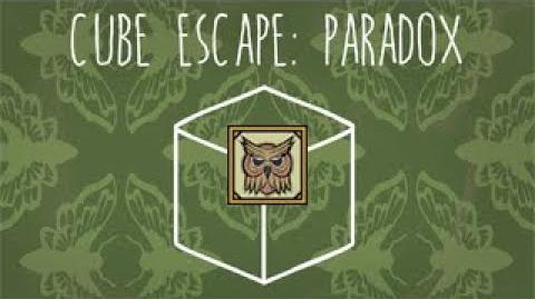 """Cube Escape Paradox - Achievement """"Paradise""""-0"""