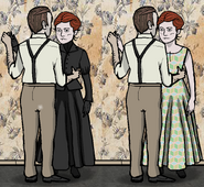 Frank and rose dance