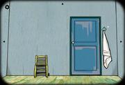 Bedroom in arles door