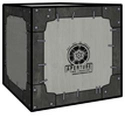 Vintage Storage Cube