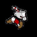 Cuphead running