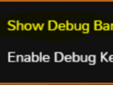 Modding:DebugBar