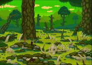 Full elephant graveyard