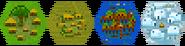 Hex villages
