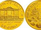 Austrian 25 euro coin