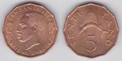 Tanzania 5 senti 1966.jpg