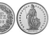 Swiss 2 franc coin