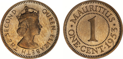 Mauritius 1 cent 1953 pf.png