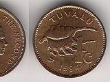 Tuvaluan 1 cent coin
