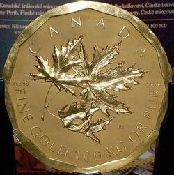 One Million Canadian Dollar Coin - 2007.jpg