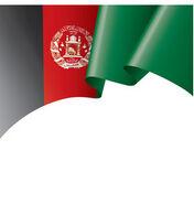 Afghanistan-flag-on-a-white-vector-22369971
