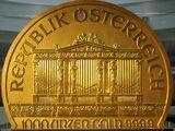 Austrian 100,000 euro coin