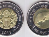 Andaman and Nicobar Islands 10 rupee coin