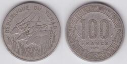 Chad 100 francs 1978.jpg