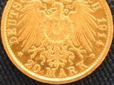 German 20 mark coin (Gold mark)