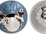 Estonian 10 euro coin