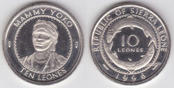 Sierra Leone 10 leones 1996.jpg