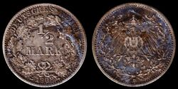 Halbe Reichsmark 1908 VSRS.jpg