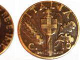 Italian 10 centesimo coin