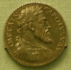 Testone d'argento di carlo V come duca di milano, 1535-56.JPG