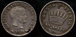 Kingdom of Italy 10 soldi 1814M.jpg