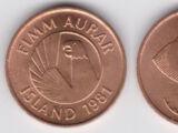 Icelandic 5 eyrir coin