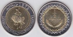 Libya half dinar 2004.jpg