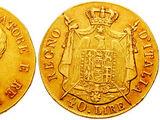 Italian 40 lira coin (Napoleonic Kingdom of Italy)
