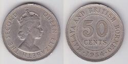 Malaya Borneo 50 cent coin 1954.jpg