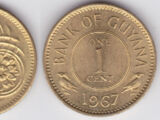 Guyanese 1 cent coin