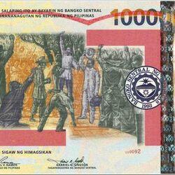 Philippine 100,000 peso banknote