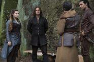 Nimue Gawain Arthur and Druna 1x08