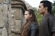 Nimue and Arthur (2) 1x08