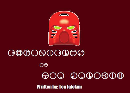 Chronicles of Toa Jalokim