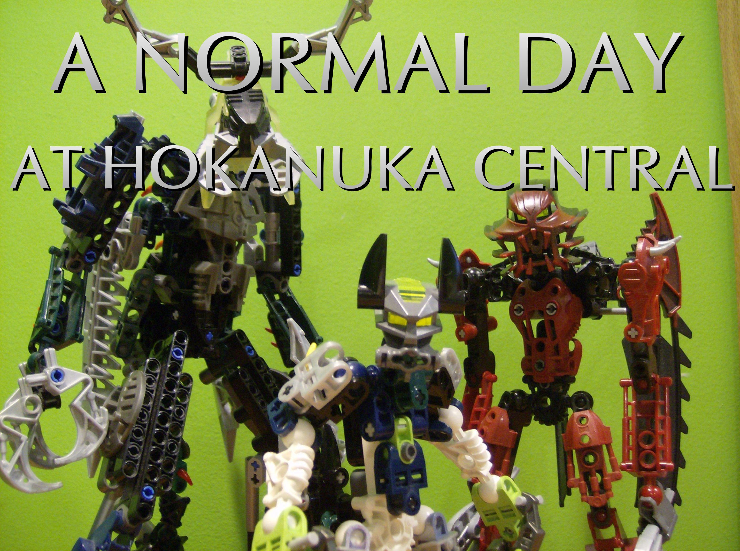 A Normal Day in Hokanuka Central