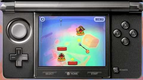 NEW! Cut the Rope Triple Treat on the Nintendo 3DS Trailer