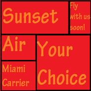 Sunset Air Ad