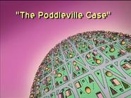 The Poddleville Case Title Card