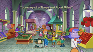 Journey of a Thousand Food Miles Title Card