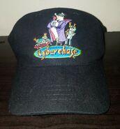 CYBERCHASE Hat Vintage TV Promo Kid's Strapback Cap PBS RARE