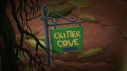 S12E07 Critter Cove Sign