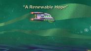 A Renewable Hope Title Card