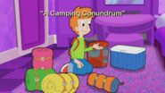 A Camping Conundrum Title Card