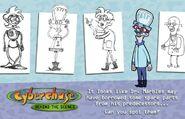Dr. Marbles concept art