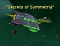 Secrets of Symmetria Title Card