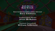 S12E04 Math Advisor, Environmental Education Advisor, Content Brief Writer, Content Consultant